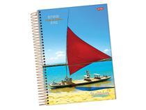 Caderno Espiral 10 x 1 Brasilidade Capa Dura, Contém 200 Folhas, Jandaia - 0814477 -