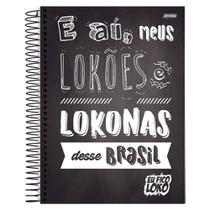 Caderno Eu Fico Loko - E aí - 10 Matérias - Jandaia -