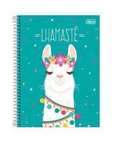 Caderno hello lhama universitário (10x1) 160 folhas - Tilibra