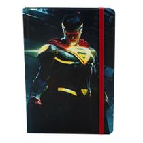 Caderno Injustice Superman - Grande - Geek10