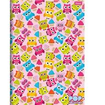 Caderno Pequeno Brochura Capa Dura Pop Collection 96 Folhas Foroni