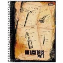 Caderno The Last of Us 10 Matérias Tilibra -