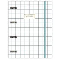 Caderno Tilibra Argolado Universitário Cartonado Com Elástico West Village - 80 Folhas -