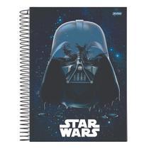 Caderno Univ 10mat 160fls Star Wars Darth Vader Jandaia -