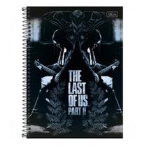 Caderno Univ 10mat 160fls The Last Of Us Espelhado Tilibra -