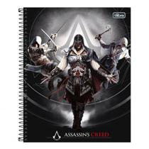 Caderno Univ 10mat Tilibra Assassins Creed 3 Personagens -