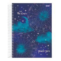 Caderno Univ 1mat 80fls Mystic Stars Guide You Jandaia -