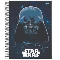 Caderno Univ 1mat 80fls Star Wars Darth Vader Jandaia -