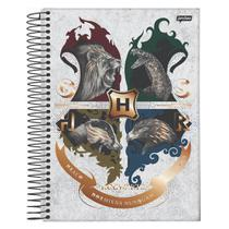 Caderno Univ 20mat 400fls Brasão BR Harry Potter Jandaia -