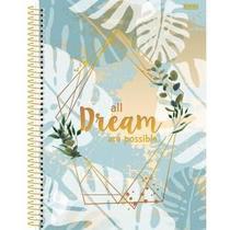 Caderno Universitário 10 Matérias Mulher  - SD -