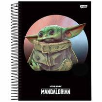 Caderno Universitário Baby Yoda 1 Matéria Jandaia -