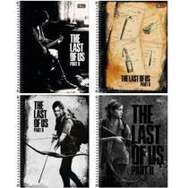 Caderno Universitário Capa Dura 10 Matérias 160 Folhas Tilibra The Last Of Us -