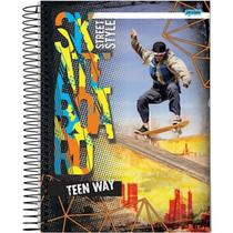 Caderno Universitario Com 96 Folhas Teen Way Jandaia -
