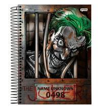 Caderno Universitário - DC Comics - Coringa Desconhecido - 80 folhas - Capa Dura - Jandaia
