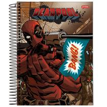 Caderno Universitário - Deadpool - Bang - 200 folhas - Marvel