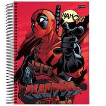 Caderno Universitário - Deadpool - Wahoo - 200 folhas - Marvel