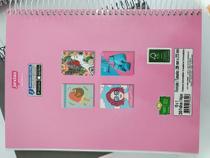 Caderno Universitário Espiral  10 Matérias 200 Folhas Jandaia Feminino -
