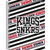 Caderno Universitário Kings Snkrs 10 Matérias - SD -