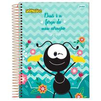 Caderno Universitário Smilinguido - Deus- 1 Matéria - Jandaia