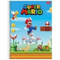 Caderno Universitário Super Mario 1 Matéria Foroni -