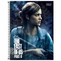 Caderno Universitário The Last of Us 10 Matérias Tilibra -