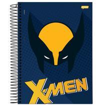 Caderno Universitário - X-men - Máscara Wolverine - 200 fls - Marvel
