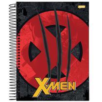 Caderno Universitário - X-men - Símbolo - 200 folhas - Marvel