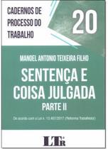 Cadernos De Processo Do Trabalho - Ltr