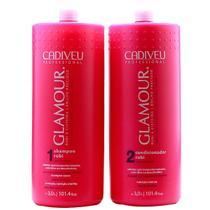 Cadiveu Glamour Duo Kit Shampoo Rubi (3000ml) e Condicionador Rubi (3000ml) -