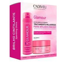 Cadiveu Glamour Kit - Shampoo + Máscara Capilar -
