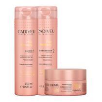 Cadiveu Kit Hair Remedy para Cabelos Danificados 3 Produtos -