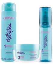 Cadiveu Plastica de Argila (Btx Capilar) - 3 produtos -