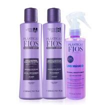 Cadiveu Plastica dos Fios Kit Home Care de Limpeza E Cuidados (shampoo 300ml + Condicionador 300ml + -