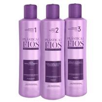 Cadiveu Plástica dos Fios Kit - Shampoo + Antifrizz + Máscara Restauradora -