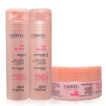 Cadiveu Professional Hair Remedy Kit Home Care de Limpeza E Cuidados (shampoo 250ml + Condicionador -