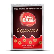 Café Cappuccino Cremoso Cajubá Sachê c/ 12g - Icatril