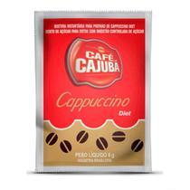 Café Cappuccino Cremoso Diet Cajubá Sachê c/ 6g - Icatril