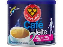 Café com Leite 3 Corações Lata 330g -