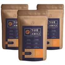 Café Due Amici - Kit com 3 cafés da Edição Allegro - 3x250g Grãos - Due Amici Specialty Coffee