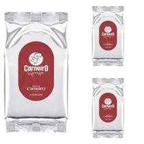 Café Expresso Em Grãos Torrado 100% Arábica 1kg kit 3 unidades - Carneiro -