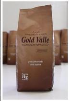 Café Gold Valle - Gourmet 100% Arábico Grãos 01 Kg -