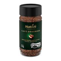 Café Instantâneo Liofilizado Orgânico Native 50g -