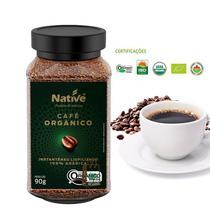 Café Orgânico Instantâneo Native 90g Liofilizado -