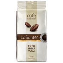 Café Torrado e Moído 100% Arábica Tradicional a Vácuo 500g La Santé -