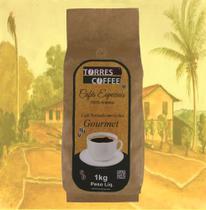 Café Torres Coffee Gourmet Torrado em Grãos 1kg -