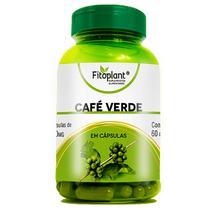 Café Verde 60 Cápsulas 500mg Fitoplant -