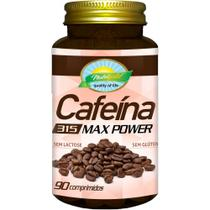 Cafeína 90 Comprimidos 315 Mg Max Power - Nutri gold