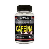 Cafeína caps 60cap 40g dna -