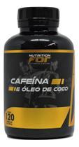 CAFEÍNA COM ÓLEO DE COCO 1000 mg 120 CAPS - Fitoplant