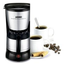 Cafeteira Arno Gran Perfectta Thermo Preta e Inox CFX2 127V -
